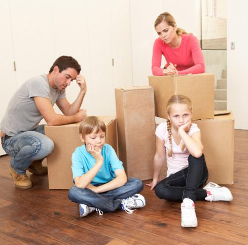Les problèmes qui peuvent se-manifester le jour de déménagement