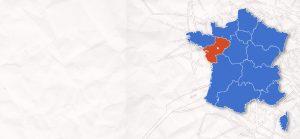 carte France Pays de la Loire